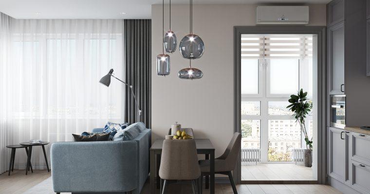 Дизайн-проект двух комнатной квартиры